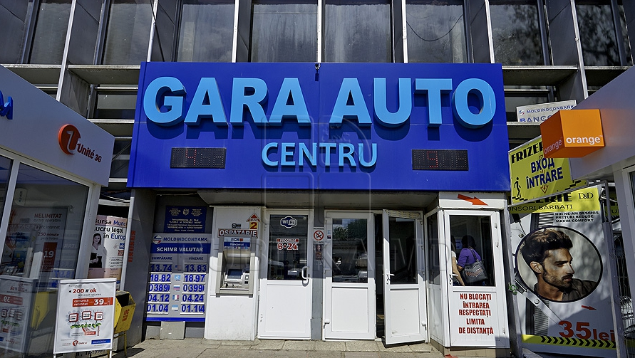 Gara auto centru Chișinău